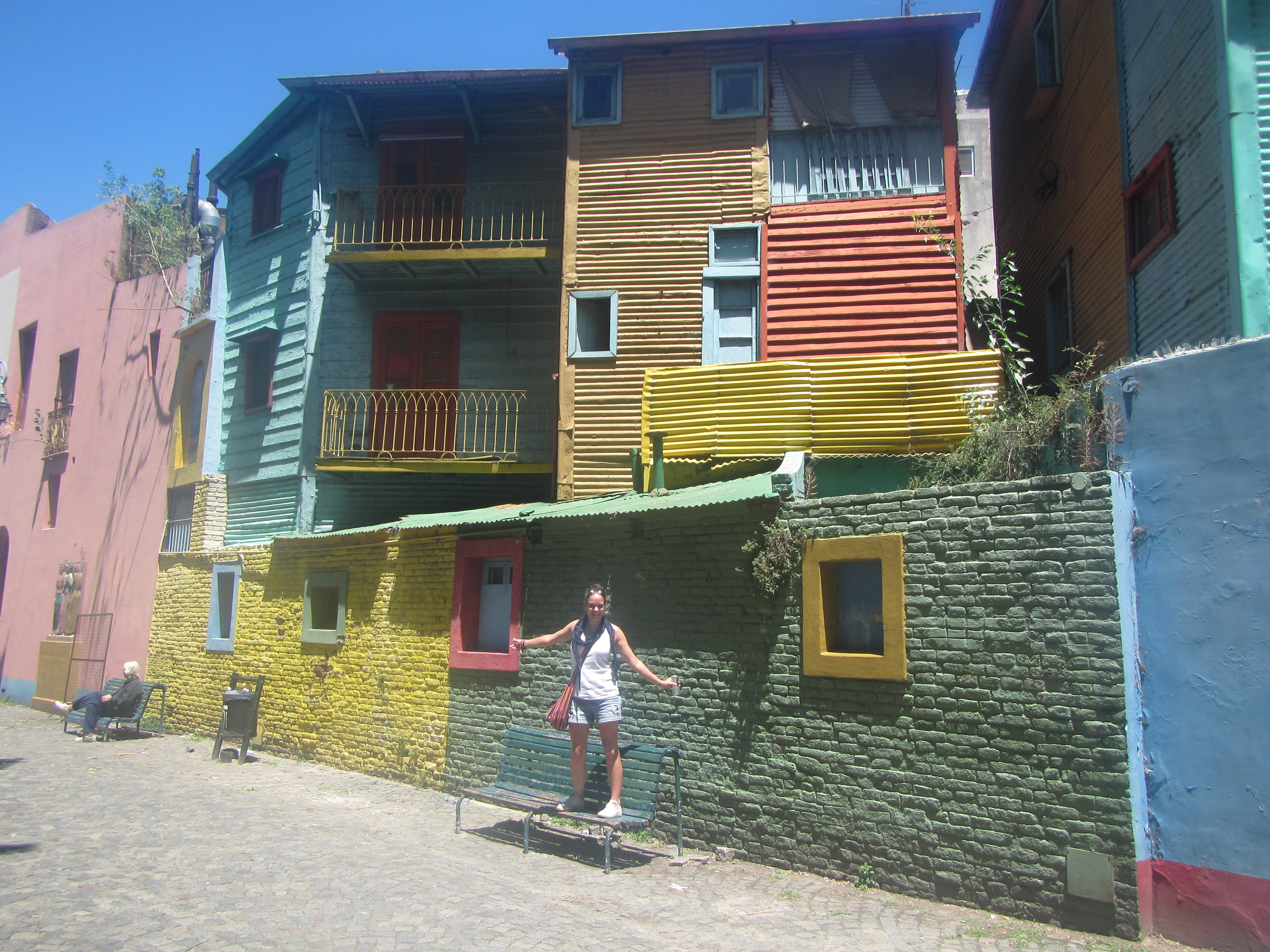 The colourful neighbourhood of La Boca, Buenos Aires